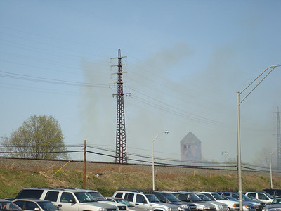 Waterworks Brush Fire 4-24-08
