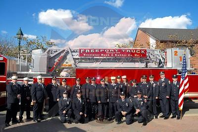 Freeport F.D. Dedication for Tower Ladder 217  11/3/19