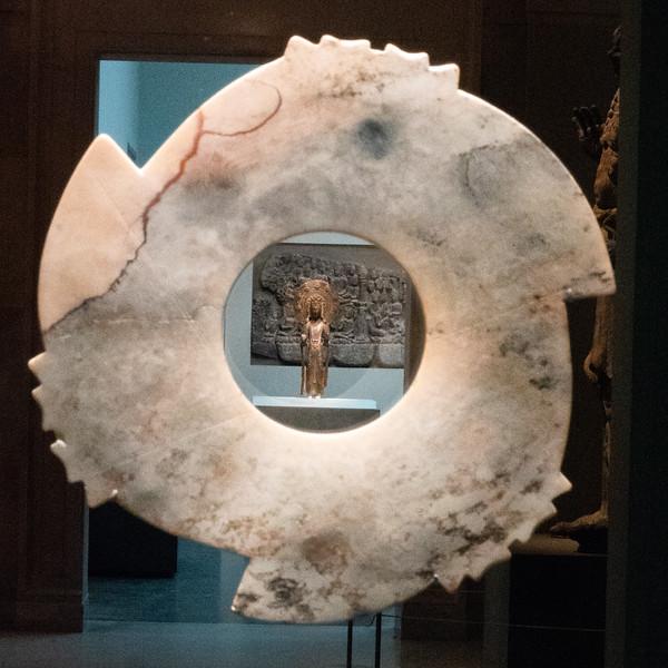 Neolithic Serpintine Disk 2500 BC China