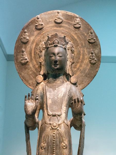 Bodhisattva w 7 Buddas of the Past