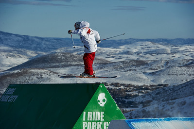 FIS Freestyle World Ski Championships Slopestyle Finals Ashely Battersby Park City Mountain Resort February 2, 2011 Photo © Steven Korneich