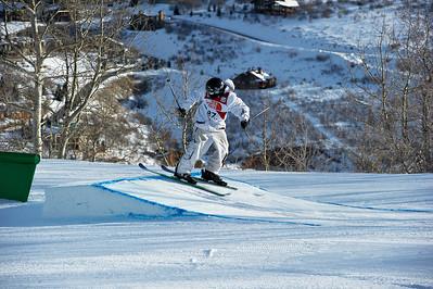 FIS Freestyle World Ski Championships Slopestyle Finals John Strenio Park City Mountain Resort February 2, 2011 Photo © Steven Korneich