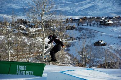 FIS Freestyle World Ski Championships Slopestyle Finals Devin Logan Park City Mountain Resort February 2, 2011 Photo © Steven Korneich