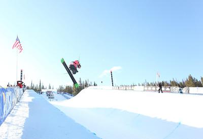 Brita Sigourney Visa U.S. Freeskiing Grand Prix at Copper Mountain, CO on December 9, 2011. Photo: Sarah Brunson/U.S. Freeskiing