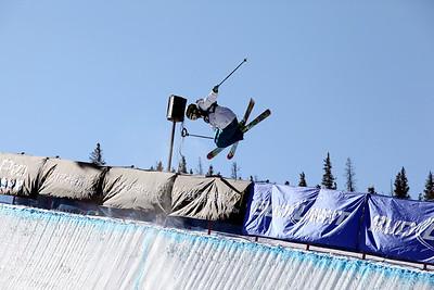 Jen Hudak Visa U.S. Freeskiing Grand Prix at Copper Mountain, CO on December 9, 2011. Photo: Sarah Brunson/U.S. Freeskiing