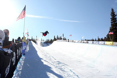 Devin Logan Visa U.S. Freeskiing Grand Prix at Copper Mountain, CO on December 9, 2011. Photo: Sarah Brunson/U.S. Freeskiing
