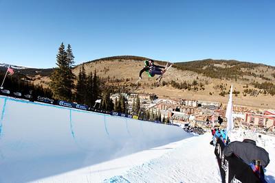 Duncan Adams Visa U.S. Freeskiing Grand Prix at Copper Mountain, CO on December 9, 2011. Photo: Sarah Brunson/U.S. Freeskiing