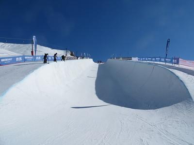 2012 FIS Freeskiing Halfpipe World Cup - Cardrona, New Zealand