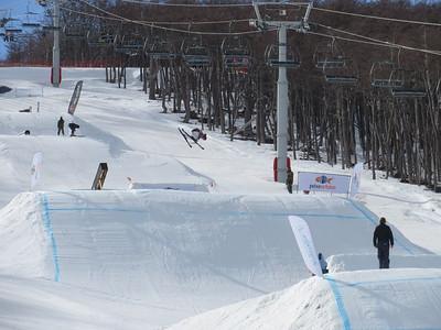 Keri Herman (USA) slopestyle. (Steele Spence/AFP)