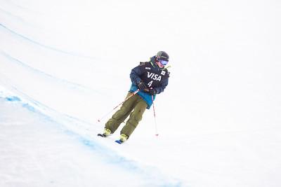 David Wise 2014 Visa U.S. Freeskiing Grand Prix at Copper Mountain, CO Halfpipe freeskiing finals Photo: Sarah Brunson/U.S. Freeskiing