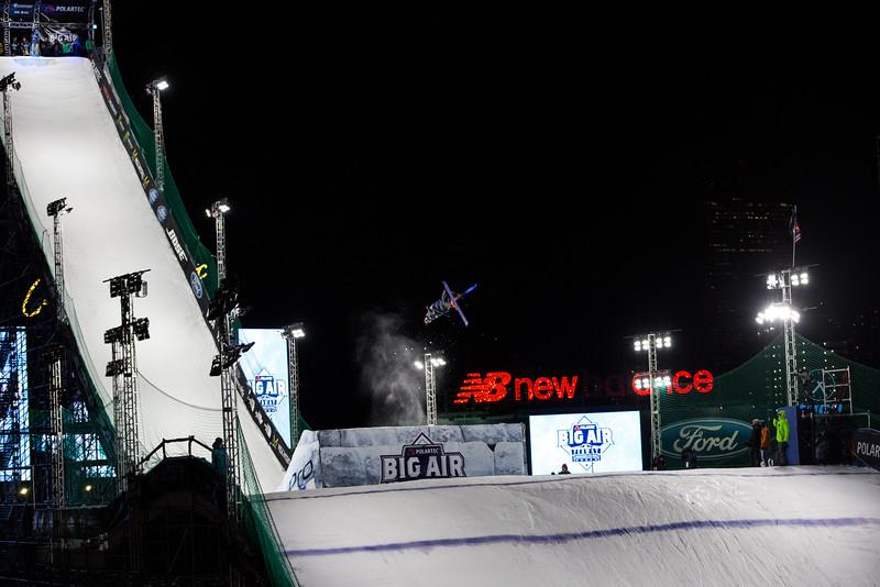Oscar Wester<br /> Freeskiing finals<br /> 2016 Polartec Big Air at Fenway - Visa U.S. Freeskiing Grand Prix<br /> Photo: U.S. Freeskiing