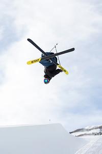 David Wise 2016 halfpipe training at Park City Mountain Resort Photo: USSA