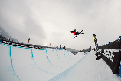 Miguel Porteous 2016 Toyota U.S. Grand Prix - Copper, CO Halfpipe Freeskiing finals Photo: U.S. Freeskiing