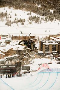 David Wise 2016 Toyota U.S. Grand Prix - Copper, CO Halfpipe skiing qualifiers Photo: U.S. Freeskiing