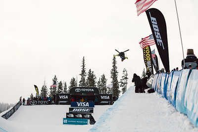 David Wise 2016 Toyota U.S. Grand Prix - Copper, CO Halfpipe Freeskiing finals Photo: U.S. Freeskiing
