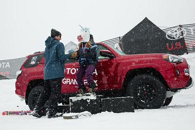 Icebreakers Breakthrough Award - Maggie Voisin Slopestyle skiing finals 2017 Toyota U.S. Grand Prix - Freeskiing at Mammoth Mountain, CA Photo: U.S. Freeskiing