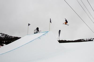 Slopestyle skiing finals 2017 Toyota U.S. Grand Prix - Freeskiing at Mammoth Mountain, CA Photo: U.S. Freeskiing