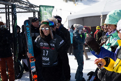 Taylor Seaton Halfpipe skiing finals 2017 Toyota U.S. Grand Prix - Freeskiing at Mammoth Mountain, CA Photo: U.S. Freeskiing