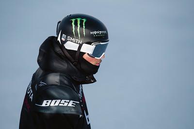 Gus Kenworthy Halfpipe skiing finals 2017 Toyota U.S. Grand Prix - Freeskiing at Mammoth Mountain, CA Photo: U.S. Freeskiing