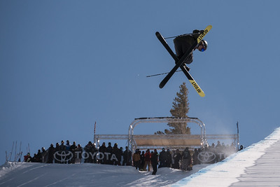 Mammoth Mountain halfpipe World Cup 2017