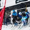 Whitney Gardner (l) and Alexandra Edebo<br /> 2017 Toyota U.S. Grand Prix - Skicross at Solitude Resort<br /> Photo: U.S. Snowboarding