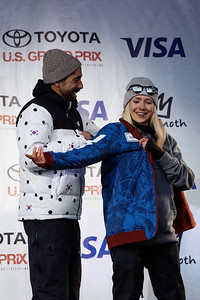 Maggie Voisin U.S. Ski & Snowboard Team nomination ceremony presented by Visa 2018 Toyota U.S. Freeskiing Grand Prix at Mammoth Mountain, CA Photo: Sarah Brunson/U.S. Ski & Snowboard