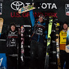 Torin Yater-Wallace, Kyle Smaine and Alex Ferreira<br /> Freeski halfpipe finals<br /> 2018 Toyota U.S. Freeskiing Grand Prix at Mammoth Mountain, CA<br /> Photo: Sarah Brunson/U.S. Ski & Snowboard