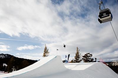 AFP Freeski slopestyle finals 2018 Toyota U.S. Freeskiing Grand Prix at Mammoth Mountain, CA Photo: Sarah Brunson/U.S. Ski & Snowboard
