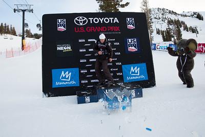 Icebreakers Breakthrough Award: Alex Hall AFP Freeski slopestyle finals 2018 Toyota U.S. Freeskiing Grand Prix at Mammoth Mountain, CA Photo: Sarah Brunson/U.S. Ski & Snowboard