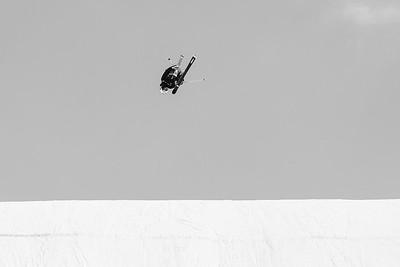 Nick Goepper Freeski Slopestyle finals 2019 Toyota U.S. Grand Prix at Mammoth Mountain, CA Photo: U.S. Ski & Snowboard