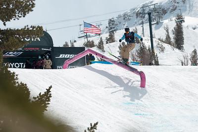 Max Moffatt Freeski Slopestyle finals 2019 Toyota U.S. Grand Prix at Mammoth Mountain, CA Photo: U.S. Ski & Snowboard