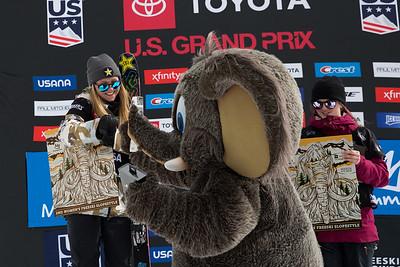 Johanne Killi Freeski Slopestyle finals 2019 Toyota U.S. Grand Prix at Mammoth Mountain, CA Photo: U.S. Ski & Snowboard