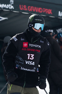 Colby Stevenson Freeski Slopestyle finals 2019 Toyota U.S. Grand Prix at Mammoth Mountain, CA Photo: U.S. Ski & Snowboard