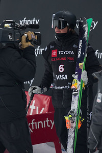 Mac Forehand Freeski Slopestyle finals 2019 Toyota U.S. Grand Prix at Mammoth Mountain, CA Photo: U.S. Ski & Snowboard