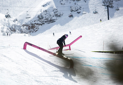 Freeski Slopestyle finals 2019 Toyota U.S. Grand Prix at Mammoth Mountain, CA Photo: U.S. Ski & Snowboard
