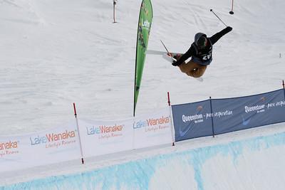 Halfpipe Freestyle Ski World Cup Qualifiers Cardrona
