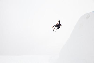 Elias Ambuehl - SUI 2013 Visa U.S. Freeskiing Grand Prix at Copper Mountain, Colorado. FIS World Cup Slopestyle freeskiing finals Photo: Sarah Brunson/U.S. Freeskiing