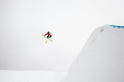 Alex Schlopy - USA 2013 Visa U.S. Freeskiing Grand Prix at Copper Mountain, Colorado. FIS World Cup Slopestyle freeskiing finals Photo: Sarah Brunson/U.S. Freeskiing
