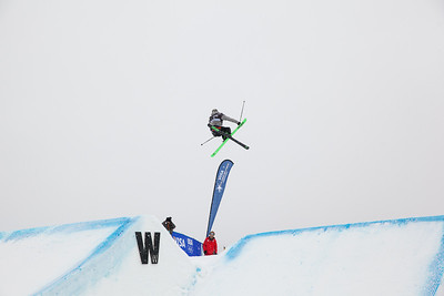 Joss Christensen - USA 2013 Visa U.S. Freeskiing Grand Prix at Copper Mountain, Colorado. FIS World Cup Slopestyle freeskiing finals Photo: Sarah Brunson/U.S. Freeskiing
