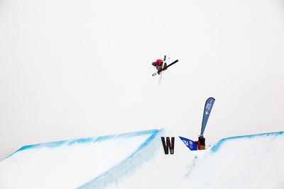 Kai Mahler - SUI 2013 Visa U.S. Freeskiing Grand Prix at Copper Mountain, Colorado. FIS World Cup Slopestyle freeskiing finals Photo: Sarah Brunson/U.S. Freeskiing