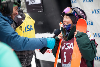 Darian Stevens - USA 2013 Visa U.S. Freeskiing Grand Prix at Copper Mountain, Colorado. FIS World Cup Slopestyle freeskiing finals Photo: Sarah Brunson/U.S. Freeskiing