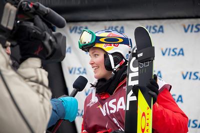 Grete Eliassen - USA 2013 Visa U.S. Freeskiing Grand Prix at Copper Mountain, Colorado. FIS World Cup Slopestyle freeskiing finals Photo: Sarah Brunson/U.S. Freeskiing