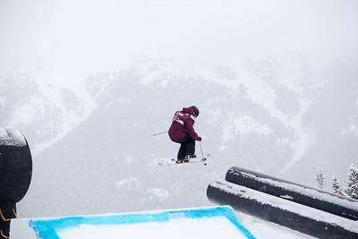 2013 Visa U.S. Freeskiing Grand Prix at Copper Mountain, Colorado. FIS World Cup Slopestyle freeskiing finals Photo: Sarah Brunson/U.S. Freeskiing