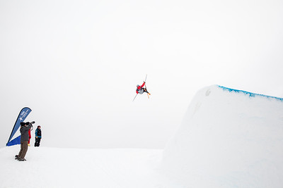 Bobby Brown - USA 2013 Visa U.S. Freeskiing Grand Prix at Copper Mountain, Colorado. FIS World Cup Slopestyle freeskiing finals Photo: Sarah Brunson/U.S. Freeskiing
