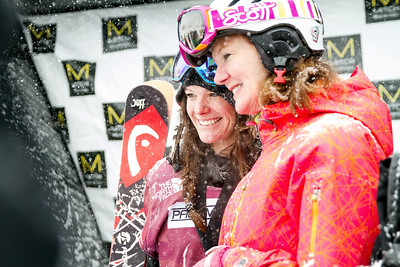 Keri Herman and her mother 2014 Visa Freeskiing Grand Prix at Breckenridge, CO Photo: Sarah Brunson/U.S. Freeskiing