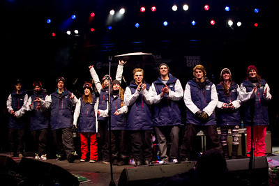 2014 Freeskiing Olympic Team naming 2014 Visa Freeskiing Grand Prix in Park City, Utah Photo: Sarah Brunson/U.S. Freeskiing