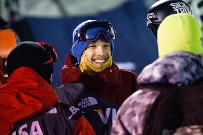Lyman Currier Halfpipe finals - Saturday 2014 Visa Freeskiing Grand Prix in Park City, UT Photo: Sarah Brunson/U.S. Freeskiing