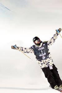 Aaron Blunck Halfpipe finals - Saturday 2014 Visa Freeskiing Grand Prix in Park City, UT Photo: Sarah Brunson/U.S. Freeskiing