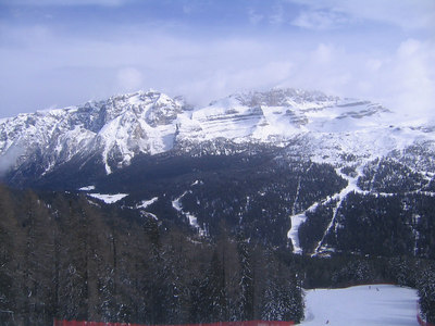 Madonna di Campiglio has lifts in 360 degrees around the valley (credit: Doug Haney/U.S. Ski Team)