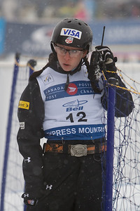 Emily Cook 2008 FIS FREESTYLE WORLD CUP Canada Post Freestyle Grand Prix Cypress Mountain Vancouver, BC - Feb. 10, 2008 Photo © Don Cook